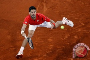 Novak Djokovic akan berduel dengan Andy Murray di final Rome Masters