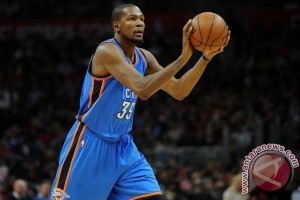 Golden State Warriors bidik Kevin Durant