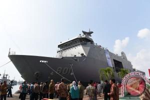Kapal perang ekspor perdana tiba di Filipina