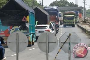 Kemacetan Akibat Perbaikan Jembatan