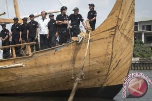 "Ekspedisi ""Spirit of Majapahit"" berlabuh di Okinawa"