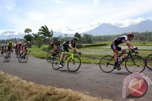 Pesepeda Indonesia urutan tiga di TdB