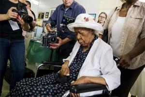 Orang tertua di dunia wafat di New York