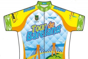 214 cyclists from 23 countries participating in Tour de Barelang