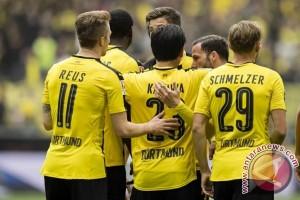 Hampir dipermalukan Ingolstadt, Dortmund paksakan hasil imbang 3-3