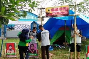 Peserta perkemahan mahasiswa PTK tiba di bumi Kendari