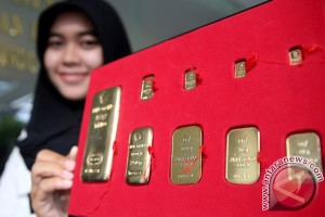 Harga emas turun lagi di New York