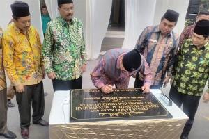 Menag Resmikan Asrama Haji Embarkasi Medan