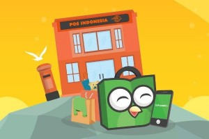 Tokopedia gandeng Pos Indonesia