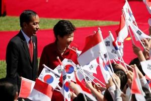 Presiden Park tekankan kemitraan Korsel-Indonesia