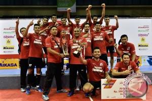 Surabaya Samator juara Proliga 2016