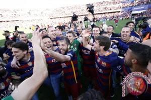 Klasemen akhir La Liga 2015/2016