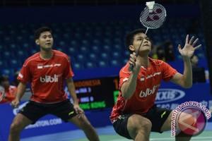 Piala Thomas - Angga/Ricky genapkan 4-0 untuk Indonesia