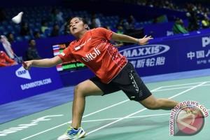 Gregoria maju ke putaran kedua Indonesia Terbuka