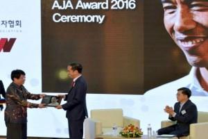 Jokowi terima penghargaan Asia Journalist Association
