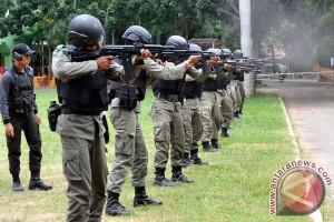 133 polisi ikut ujian kenaikan pangkat