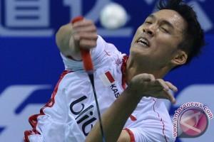 Jonatan bawa tim Thomas Indonesia ke perempat final