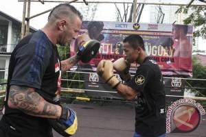 Daud Yordan lanjutkan latihan di Jakarta