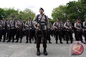 Polda Papua kirim pasukan Brimob ke Timika