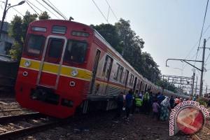Tidak ada penumpang cedera dalam KRL anjlok