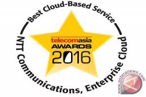 NTT Communications wins best cloud-based service for 4th consecutive year at Telecom Asia Awards 2016