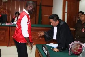 Vonis Kasus Narkotika Warga Nigeria