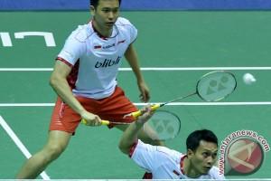 Hendra/Ahsan samakan kedudukan 1-1 atas Korea
