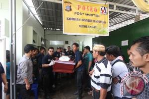 Identifikasi Korban Banjir Bandang Sibolangit