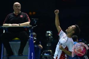 Ginting tuntaskan dendam demi jejaki perempat final Korea Terbuka