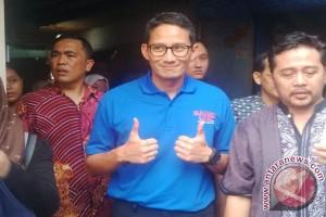 Sandiaga : warga Jakarta inginkan pemimpin yang baru