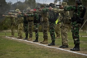 Indonesian Army wins AASAM shooting competition in Australia