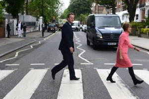 Come Together: Cameron does Beatles' Abbey Road walk in EU bid