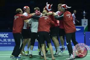 Indonesia akui tunggal putra Piala Thomas kalah pengalaman