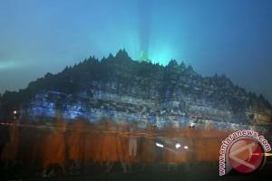 1.256 personel jaga Waisak di Borobudur