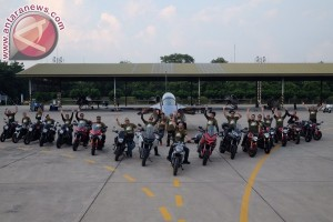 "Dua model teranyar Ducati dalam ""Tour de Military"""