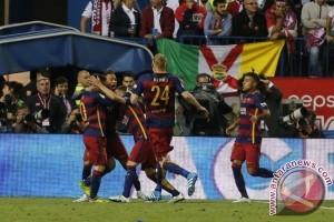 Susunan pemain final Piala Raja, Paco Alcacer starter