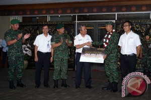 Kedatangan Tim Tembak TNI AD
