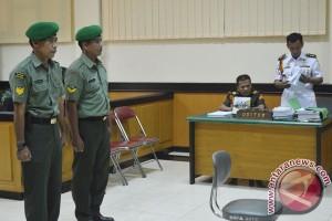 Sidang Tuntutan Pembunuhan TNI