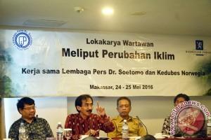 Lokakarya Meliput Perubahan Iklim