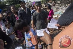 Pembongkaran Bangli Di TPU Menteng Pulo