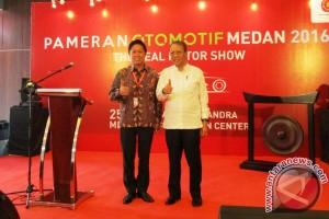Pameran Otomotif Medan resmi dibuka