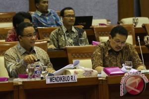 Komisi X DPR RI gelar raker dengan Mendikbud