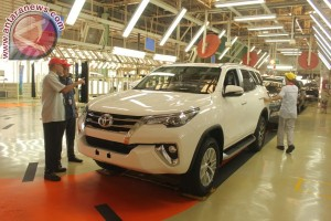 TMMIN ekspor 6.000 unit Fortuner sepanjang April