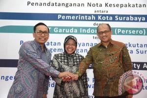 MoU Pemkot Surabaya Dengan Garuda Indonesia