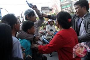 Aksi Demo Mahasiswa Ricuh
