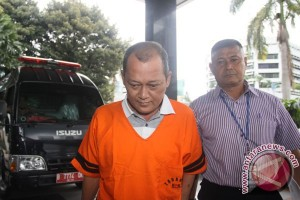 Pemeriksaan Badaruddin Amsori Bachsin KPK