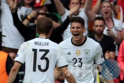 Euro 2016 - Jerman ungguli sementara Slowakia 2-0 lewat gol Boateng dan Gomez