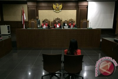 Eksepsi Jessica ditolak majelis hakim