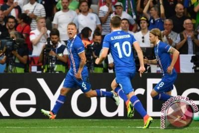 Euro 2016 - Hajar Inggris 1-2, Islandia tantang Prancis di perempatfinal