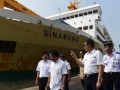 Menhub Tinjau Pelabuhan Tanjung Perak